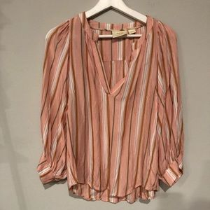 Maeve by Anthropologie Ballon Sleeve Top